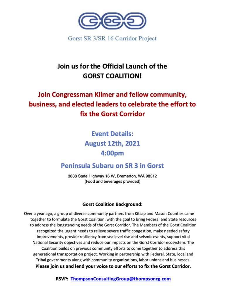 Official Launch of the GORST COALITION!